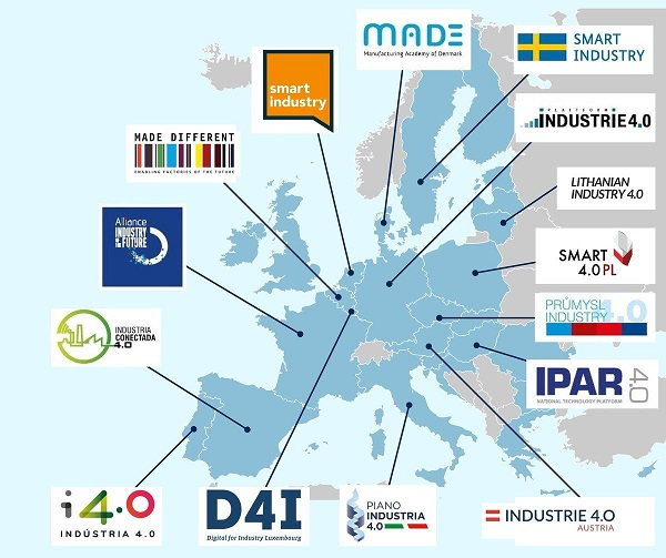 Lithuania – in the list of initiatives for the digitisation of industry across Europe